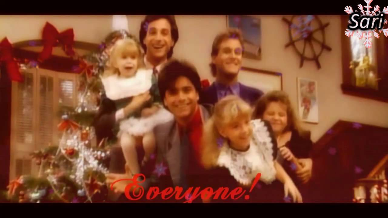Full House Cast Merry Christmas, Everyone! ♥ - YouTube