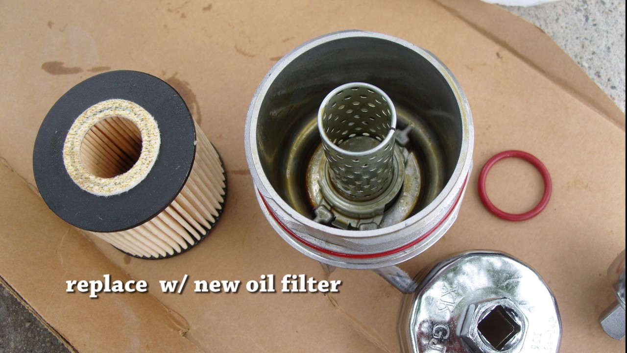 Toyota Sienna How To Replace Oil Filter Toy 640