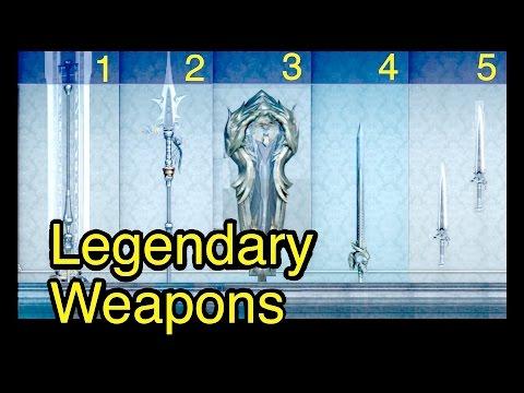 Final Fantasy XV: 5 Legendary Weapons (Randolph Weaponsmith)