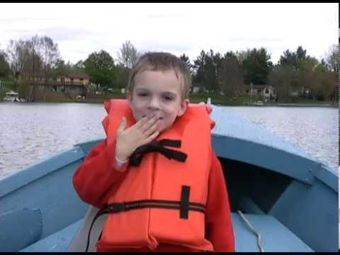 First Fishing Experience - Rocket Fishing Pole