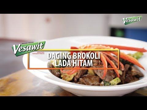 Resepi Daging Brokoli Lada Hitam Segmen Dapur Panas Bersama Vesawit Eps 9