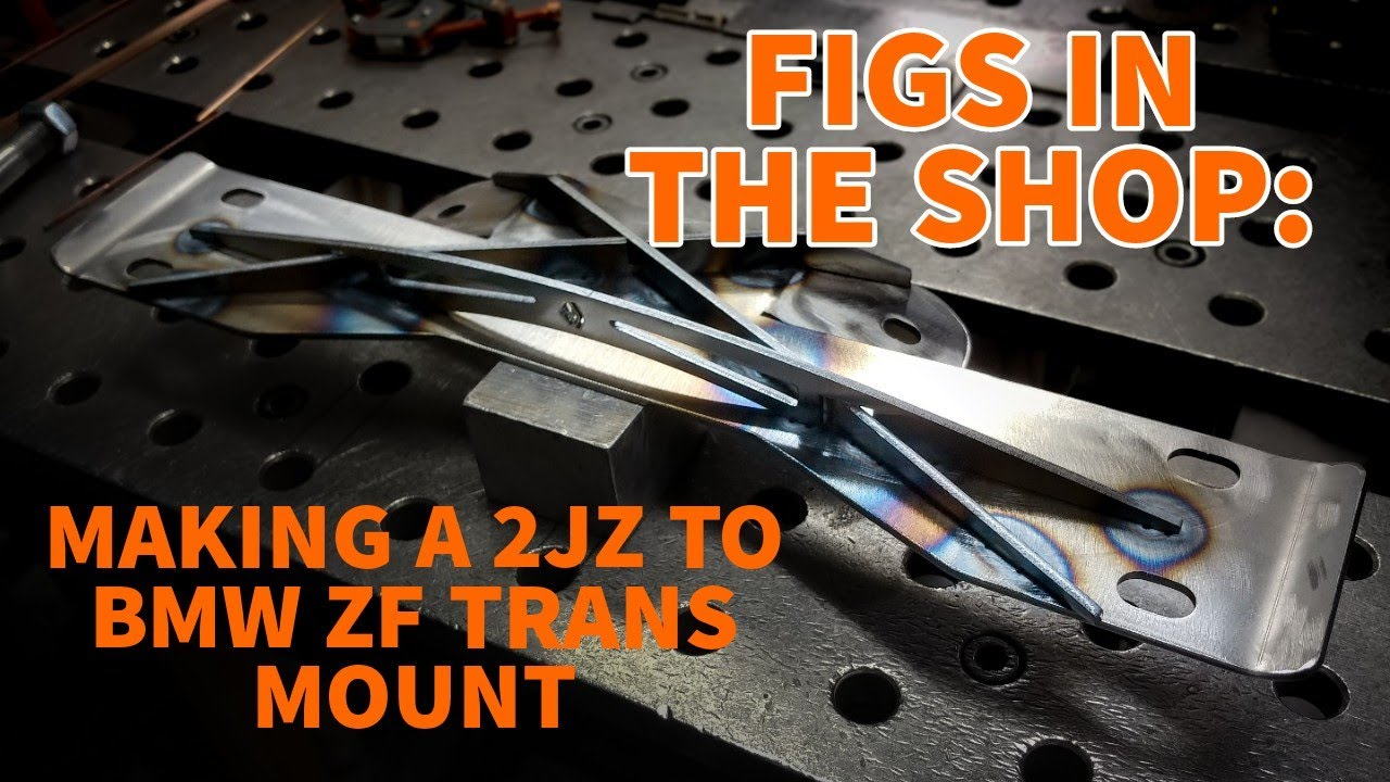 FIGS IN THE SHOP: FABRICATING A CUSTOM TRANS MOUNT