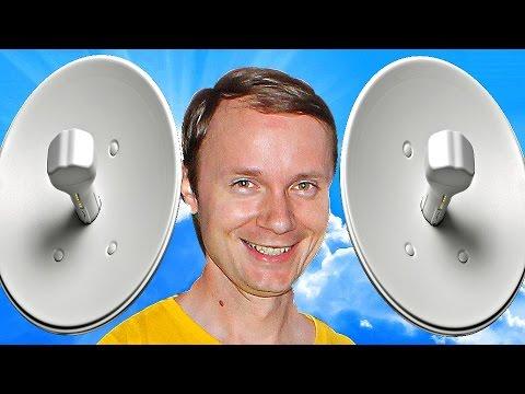 ✅Как сделать БЕСПРОВОДНОЙ Wi-Fi МОСТ и передать интернет на десятки километров