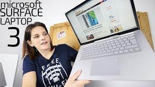Microsoft Surface laptop 3 -MEJORANDO con tropiezos-