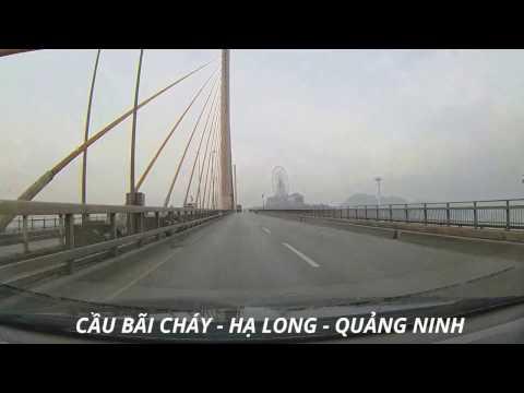 CẦU BÃI CHÁY - HẠ LONG - QUẢNG NINH   BAI CHAY  Bridge   HA LONG BAY   Vietnam Discovery Travel