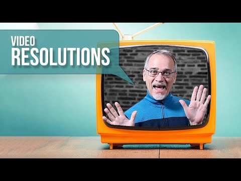 📺 LEARN Video Resolutions - 480 SD, 720 HD, 1080 FHD. 4K UHD And Beyond