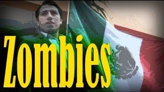 Benito Juárez Cazador de Zombies - Sketch thumbnail