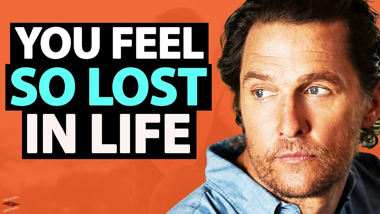 Matthew McConaughey - THIS IS Why You're NOT HAPPY In Life (Change Your Future Today)| Lewis Howes