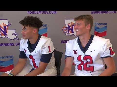 Recruit Video Interview: QB Garrett Kahmann & FB Cayden Pierce, West Monroe High School