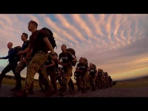 Parachute Regiment selection course 2016