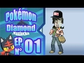 LEAFY IS HERE! | Pokemon Diamond Nuzlocke w/ Sir Squire | Episode 1