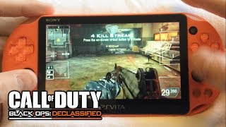 PSVita: CoD: Black Ops: Declassified - Online Team Deathmatch