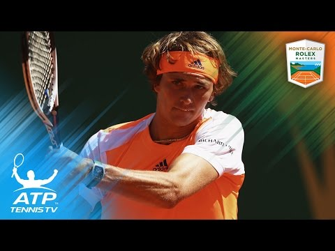 Tomas Berdych and Alexander Zverev advance | Monte-Carlo Rolex Masters 2017 Highlights Day 2