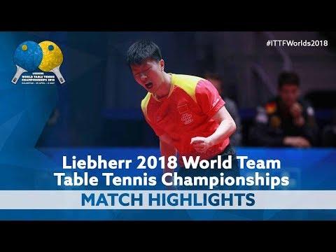 2018 World Team Championships Highlights | Ma Long vs Timo Boll (Final)