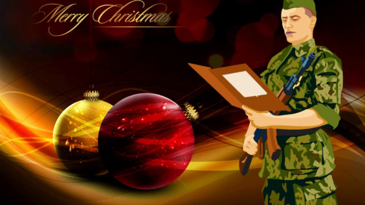 Rector Aakor reads the Christmas Soldier