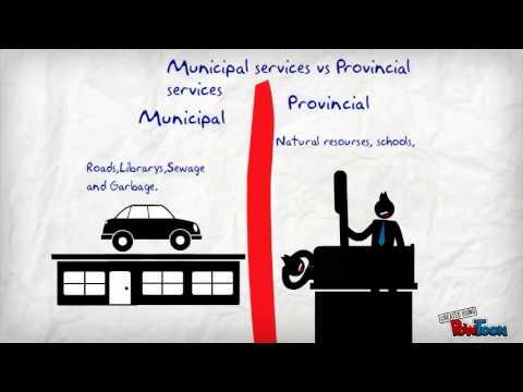 Municipal Government V.S. Provincial Government 1