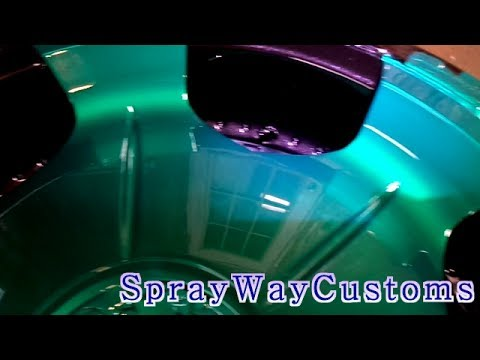 How To Paint Your Rims Candy / 2000 Monte Carlo SS Candy Teal / Update 6