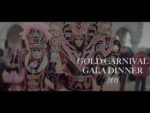 Promo Video Gold Carnival Gala Dinner 2018 - Venice, Italy