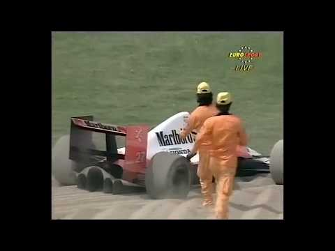 1990 San Marino Grand Prix (Imola) - Eventful opening laps (50fps)