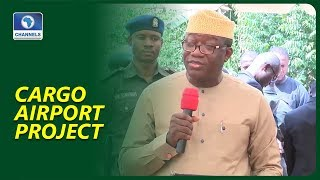 Fayemi Lays Foundation For Facility