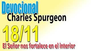 Devocional Charles Spurgeon 18/11 - El Señor nos fortalece en el interior