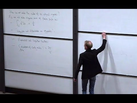 Oxford Mathematics 1st Year Student Lecture: Analysis III - Integration. Prof. Ben J. Green