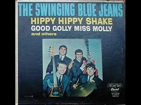 Swinging bluejeans twist and shout