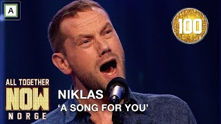 Gambar cover All Together Now Norge | Alle 100 reiser seg for Niklas med A Song For You av Leon Russel