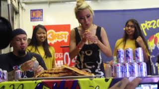 Cheesburger Eating Contest