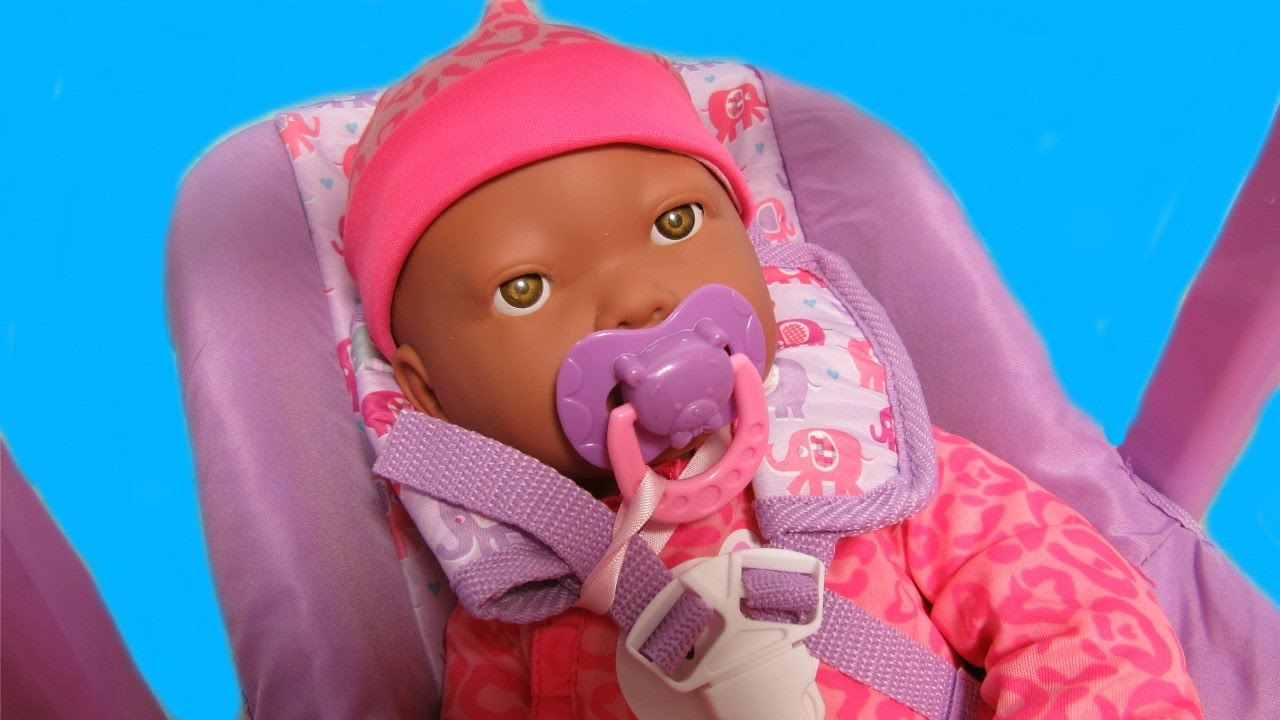 My Sweet Love Interactive Baby Doll Unboxing From WalmartPacifier Sucking LoveCarseat