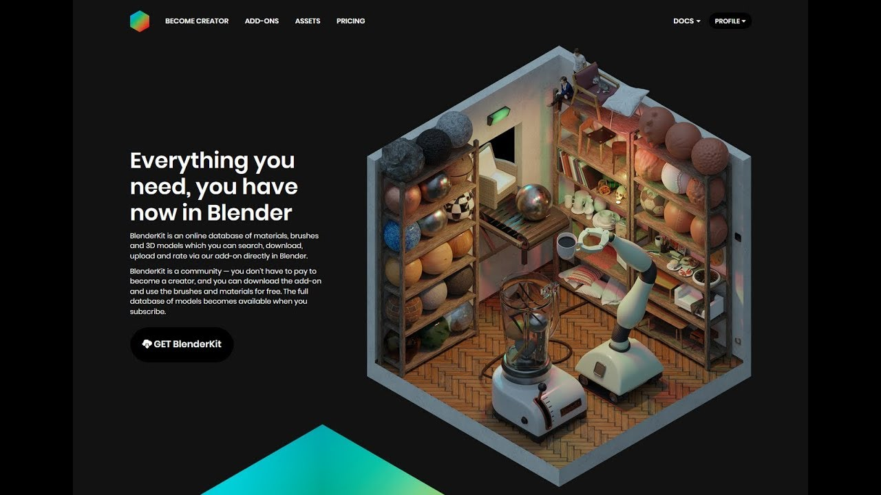 Blender Kit - Free 3D Model Assets (Ends Nov 24th 2018)