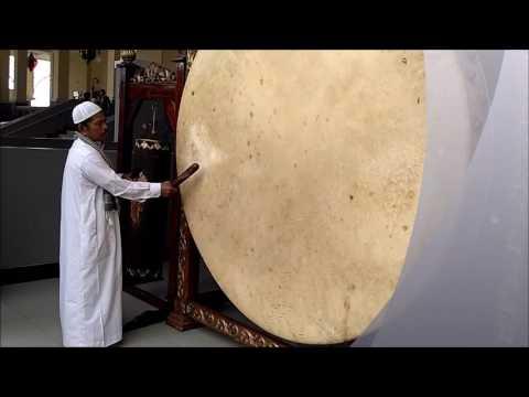 Bunyi Beduk Sebelum Azan Di Masjid Islamic Center Rokan Hulu