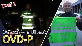 Officier van Dienst Politie  OVDP  Ongeval, Aanhouding huisvredebreuk  Deel 1