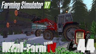 "Farming Simulator 17 Mini-Farm #44 - ""Magiczna choinka   i  prezent dla sąsiada"""