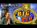 BIG WIN on Magic Mirror Deluxe 2 Slot - £10 Bet!