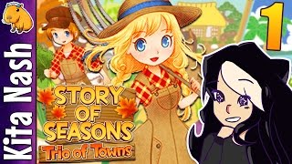 Story of Seasons Trio of Towns Gameplay PART 1: MOVING TO WESTOWN |Let