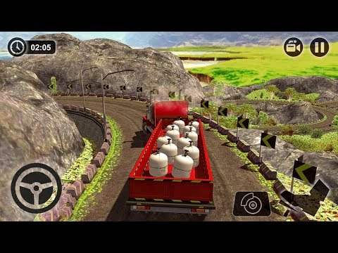 Offroad Cargo Truck Transport Driving Simulator 17 (by Tech 3D Games Studios) Android Gameplay [HD]