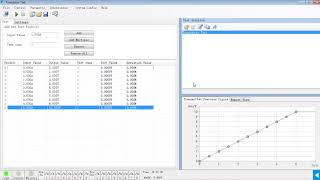 # Transducer Testing using K3063i+