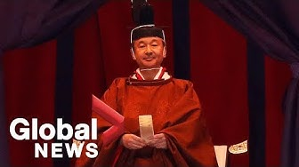 Japanese Emperor Naruhito's coronation ceremony at the Imperial Palace | FULL