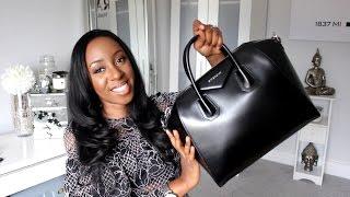 GIVENCHY ANTIGONA UNBOXING! My First Designer Handbag | Style With Substance