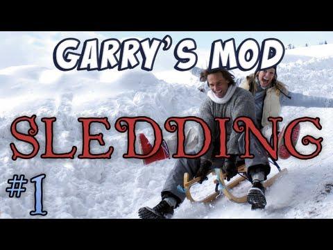 Garry's Mod - Sledding Part 1 - Hill Dancing