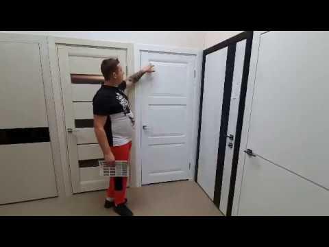 Межкомнатные двери Папа Карло Millenium ML-06 белый мат
