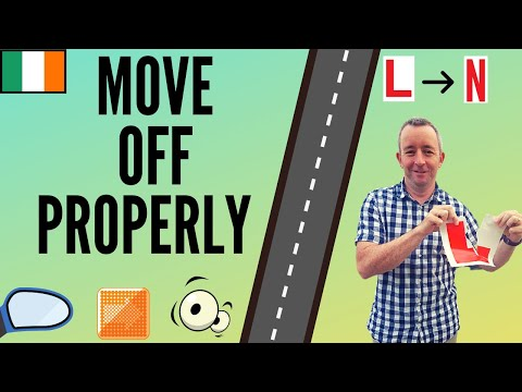 How to Move Off for the Driving Test - 5 Tips to help