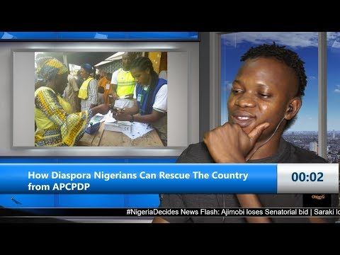 How Diaspora Nigerians Can Rescue The Country from APC/PDP