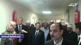 بالفيديو والصور.. معهد جنوب مصر للأورام يحتفل باليوم العالمي لمكافحة السرطان