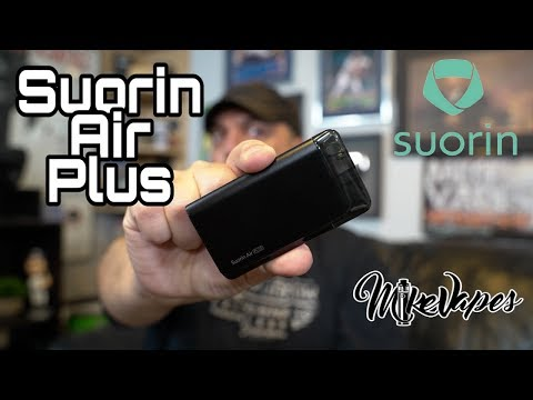 Suorin Air Plus Pod Vape Review!