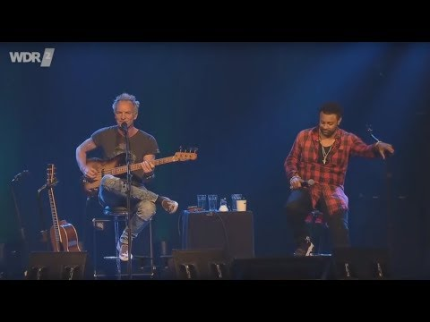 Sting + Shaggy + Dominic Miller - Don't Make Me Wait | 2018 Live At The Church Cologne