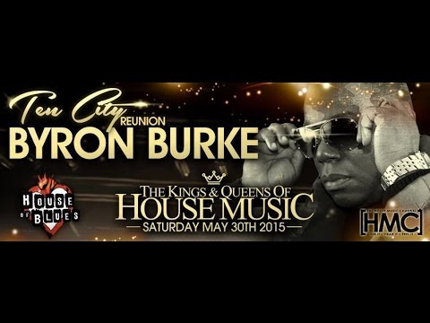 DJ/Producer Byron Burke from the group Ten City spinning at the Kings & Queens of House Music Pt 1