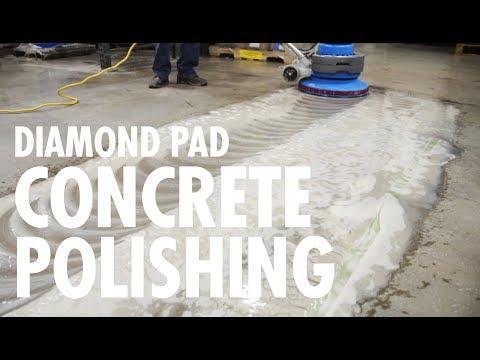 DIAMOND PAD Concrete Polishing by Ultra Chem Labs