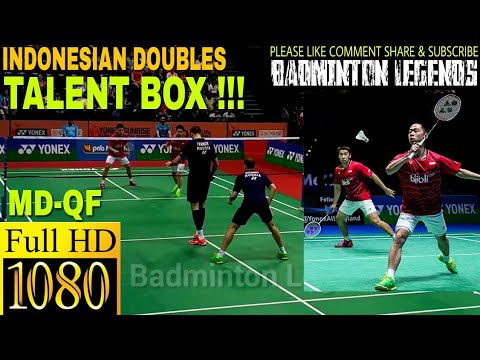 KEVIN SANJAYA-Marcus Gideon 2017 Q.FINAL vs Vladmir Ivanov-Ivan Sozonov | Yonex Badminton INDIA OPEN